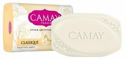 Мыло кусковое Camay Classique с ароматом белой розы