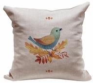 Подушка декоративная Счастье в мелочах Птичка 45 х 45 см (ПДЛХ-Н-88)