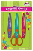 Феникс+ Ножницы фигурные для декоративной резки бумаги (45807), набор из 1 шт. + 2 сменных лезвий