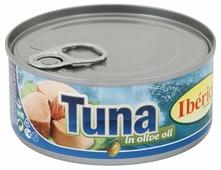 Iberica Тунец в оливковом масле, 160 г