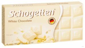 Шоколад Schogetten White белый порционный