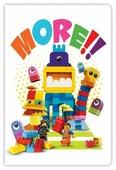 Блокнот LEGO Movie 2 Duplo 52288 21x14 см (96 листов)