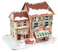 3D-пазл CubicFun Рождественский домик 4 (P650h), 46 дет.