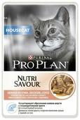 Корм для кошек Purina Pro Plan Nutrisavour HouseCat беззерновой, с лососем 85 г (кусочки в соусе)