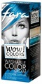 Крем Fara WOW! Colors смываемый оттеночный, тон «Oriental Sapphire» (синий)
