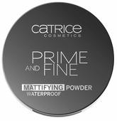 CATRICE Prime And Fine Mattifying Powder пудра компактная матирующая влагостойкая