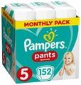 Подгузники-трусики PAMPERS Pants 5 Junior 12-17 кг 152 штуки (8001090808004)