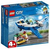 Конструктор LEGO City 60206 Патрульный самолёт