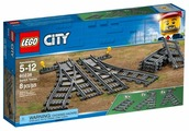 Дополнительные детали LEGO City 60238 Рельсы и стрелки