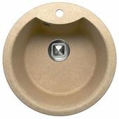 Врезная кухонная мойка Tolero R-108E 51х51см полимер