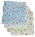 Многоразовые пеленки Чудо-Чадо Сыночку фланель 120х90 набор 4 шт.
