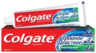 Зубная паста COLGATE Тройное действие Натуральная мята 50 мл (89251)