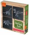 Fox-in-Box Набор для творчества Стринг Арт Коллекция динозавров (FB606312)
