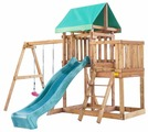 Домик Babygarden с балконом и горкой 2.4 м