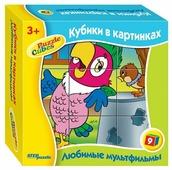 Кубики-пазлы Step puzzle Любимые мультфильмы 87311