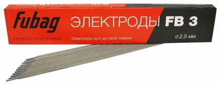 Электроды для ручной дуговой сварки Fubag FB3 2.5мм 0.9кг