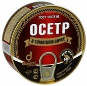 Ecofood Осетр в томатном соусе, 240 г