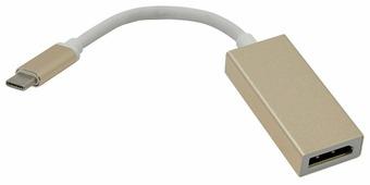 Переходник Telecom DisplayPort - USB Type-C (TCA422B) 0.15 м