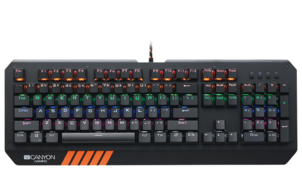 Клавиатура Canyon CND-SKB6-RU Black USB