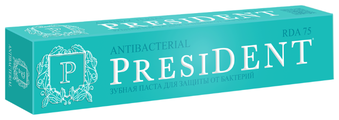 Зубная паста PresiDENT Antibacterial