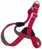 Шлейка КАСКАД Premium с подкладкой (30-34 см), обхват шеи 28-34 см