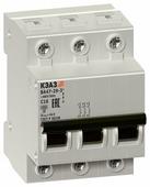 Автоматический выключатель КЭАЗ ВА47-29 3P (C) 4,5kA