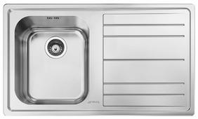 Врезная кухонная мойка smeg LE861D-2