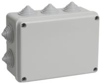 Распределительная коробка IEK KM41241 наружный монтаж 150x110 мм