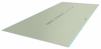 Гипсокартонный лист (ГКЛ) KNAUF ГСП-Н2 влагостойкий 2500х1200х9.5мм
