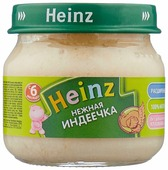 Пюре Heinz Нежная индеечка (с 6 месяцев) 80 г, 1 шт