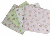 Многоразовые пеленки Чудо-Чадо Дочке фланель 120х90 набор 4 шт.