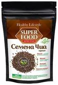 Healthy Life Style Семена чиа черные в пластиковом пакете, 150 г