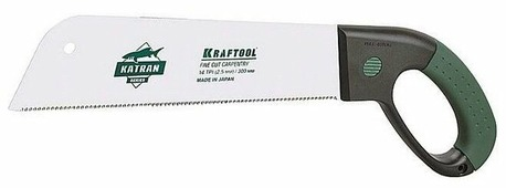 Ножовка по дереву Kraftool Katran Fine Cut Carpentry 1-15181-30-14 300 мм