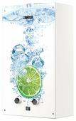 Проточный газовый водонагреватель Zanussi GWH 10 Fonte Glass Lime