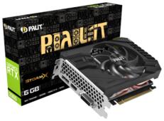 Видеокарта Palit GeForce RTX 2060 1365MHz PCI-E 3.0 6144MB 14000MHz 192 bit DVI HDMI HDCP StormX