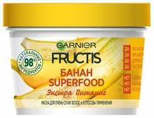 GARNIER Маска 3 в 1 для очень сухих волос Fructis SuperFood Банан