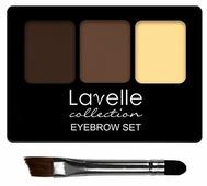 Lavelle Набор для бровей Eyebrow set с воском