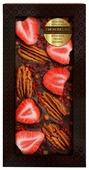 Шоколад Chokodelika темный с клубникой, пеканом и малиной