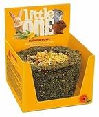 Лакомство для кроликов, грызунов Little One Flower bowl
