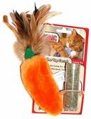 Игрушка для кошек KONG Морковь с тубом кошачьей мяты (NH4)
