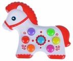 Интерактивная развивающая игрушка Азбукварик Веселушки Лошадка