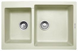 Врезная кухонная мойка Zigmund & Shtain RECHTECK 400.275 77.5х49см искусственный гранит