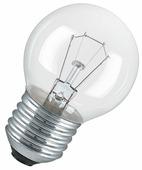 Лампа накаливания OSRAM Classic CL, E27, P45, 60Вт