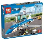 Конструктор Lepin Cities 02043 Пассажирский терминал аэропорта