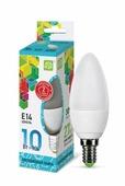Лампа светодиодная ASD LED-СВЕЧА-STD 4000K, E14, C38, 10Вт