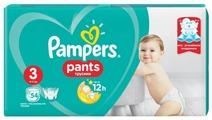 Pampers трусики Pants 3 (6-11 кг) 54 шт.