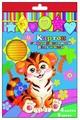 Цветной картон радужный гофрированный 33996 Феникс+, A4, 4 л., 2 цв.