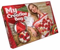 Danko Toys Набор для вышивания гладью, лентами и бисером My creative bag Маки (MCB-01-01)
