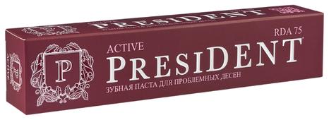 Зубная паста PresiDENT Active