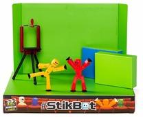 Игровой набор Zing Stikbot Анимационная студия со сценой TST617